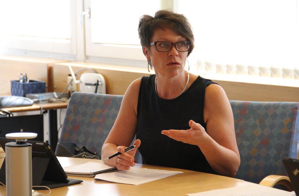 Ordførar Mette Heidi Bergsvåg Ekrheim (Sp) meiner Småfolk Barnehage ikkje nokon grunn til å vere uroa om kommunen sjølv skal bestemme storleiken på støtten til den private barnehagen. ARKIVFOTO