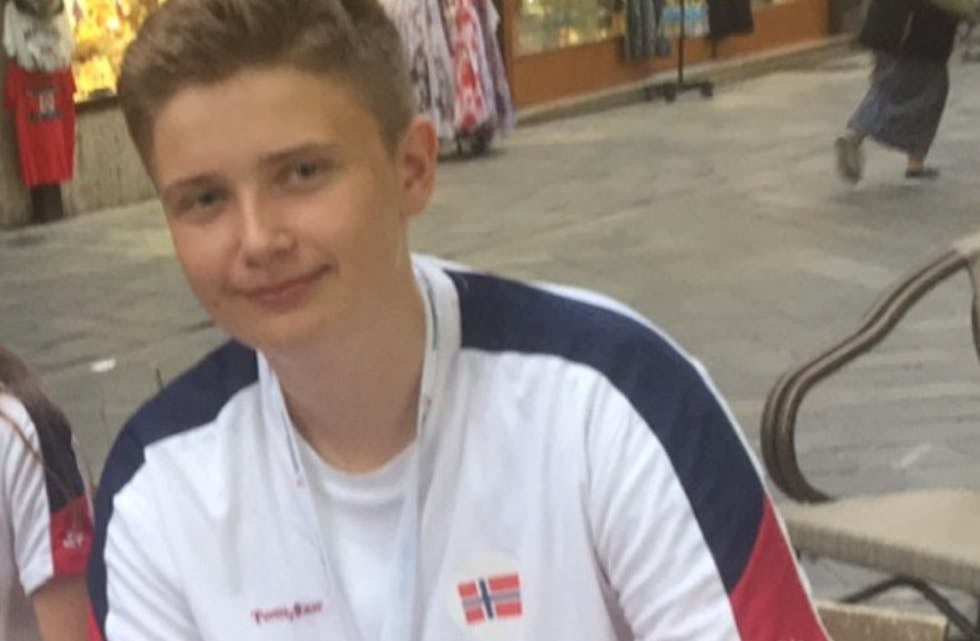 Sander Nesheim Fuglestein deltek for tida i EM i sjakk. Foto: Privat