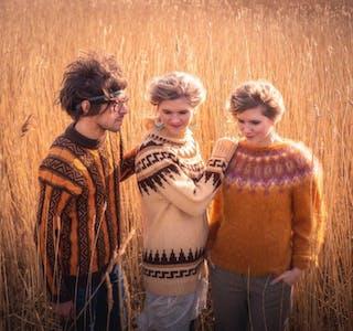 Folkbandet Rags and Feathers til Vikedal og Skjold. Pressefoto
