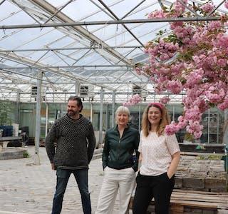 Jan Terje Rafdal, Edna Trovanelli og Yvonne Sandgren er blant dei ti som blir å finna i det nye kunst- og handverkssenteret. Arkivfoto: Irene Mæland Haraldsen