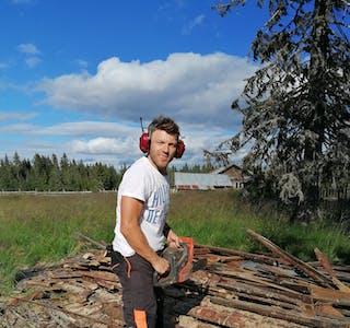 Elverumsingen Tom Erik Karlsen er vant til tøffe tak. Han hadde få konkurransar bak seg då han knuste alle i Ølmedal Rundt 2021. Foto: Privat