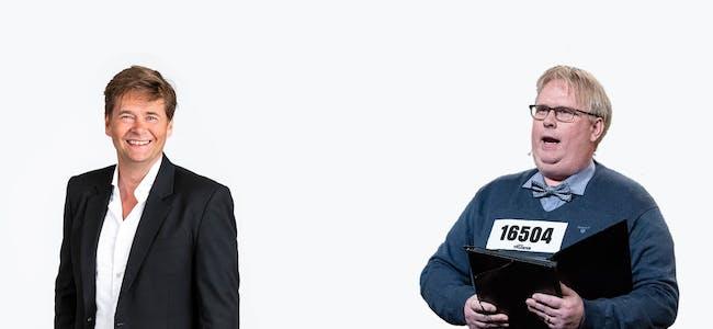 Roar Brekke og Arne Torget