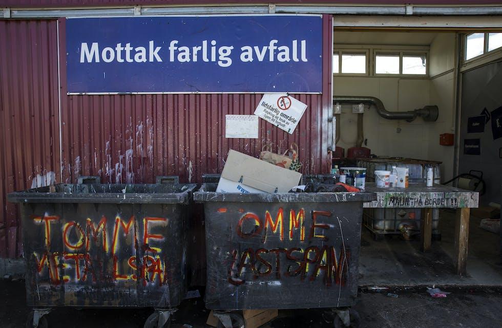 Eit renovasjonsselskap i Stavanger-området har starta gjenbruk av farleg avfall. Illustrasjonsfoto: Berit Roald / NTB / NPK